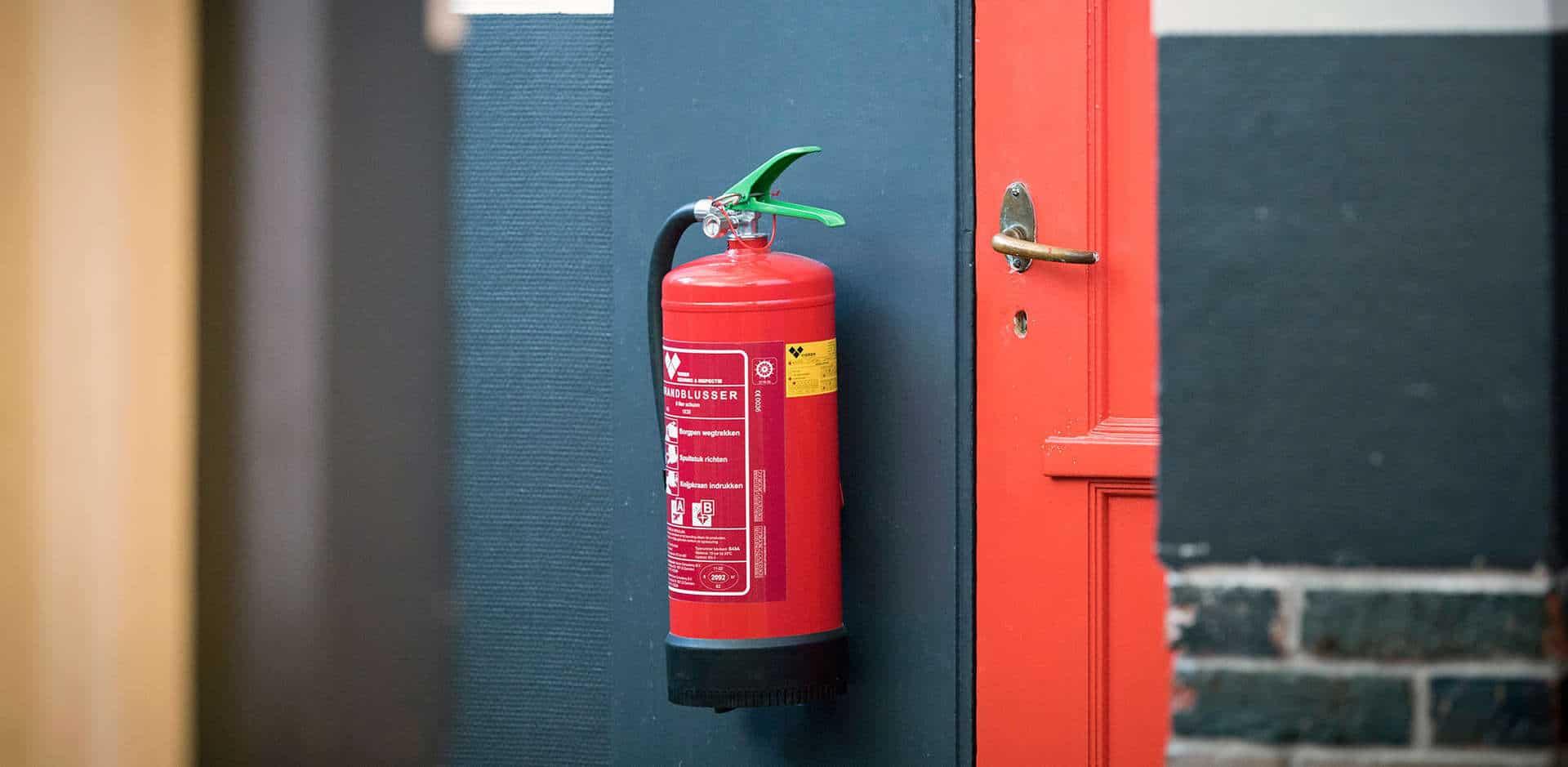 Overname onderhoud blusmiddelen door Brandpreventie Groep