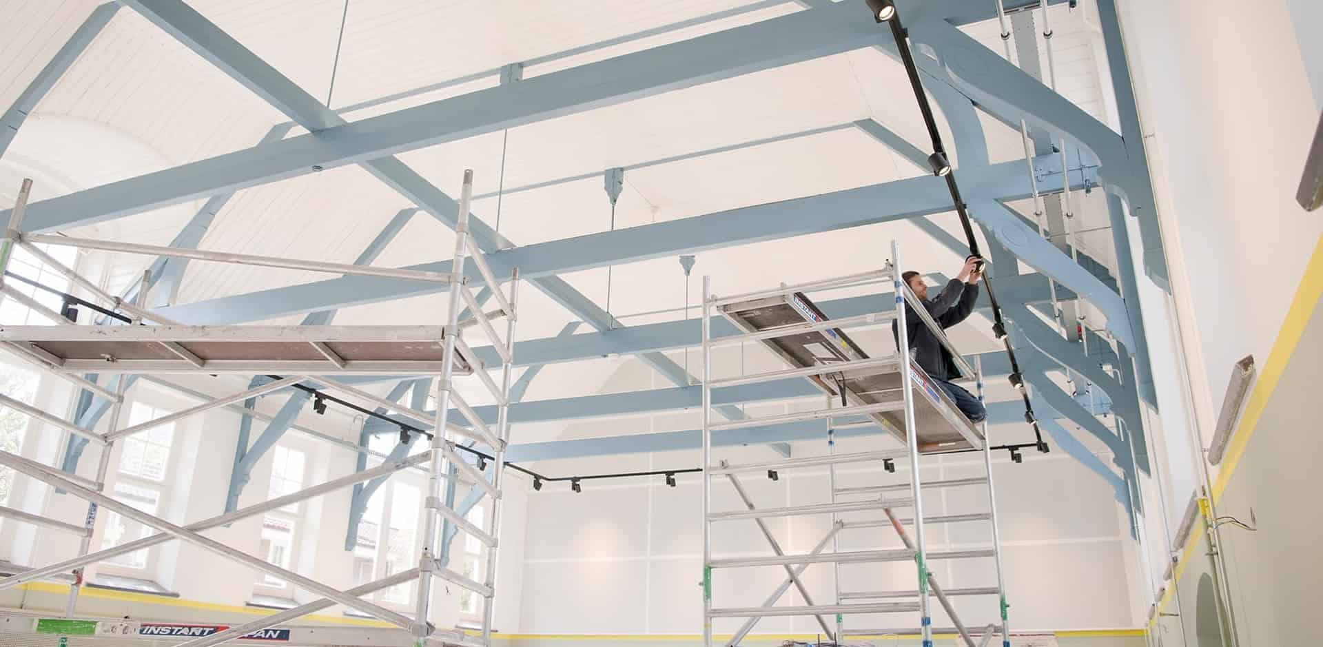 Technische installaties voor historisch pand Eerste Christelijk Lyceum