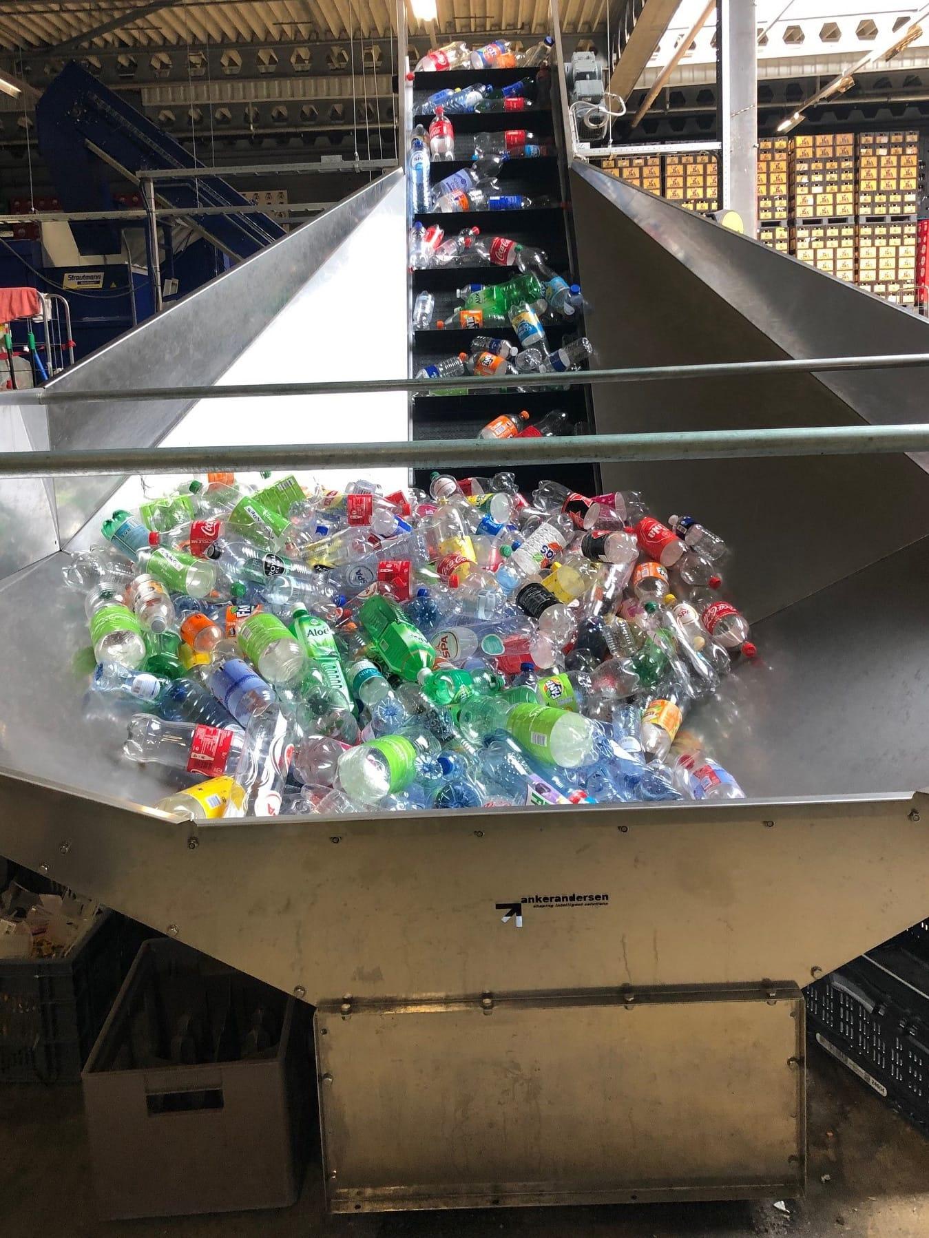 Visser helpt bij de ontwikkeling van PET fles shredder